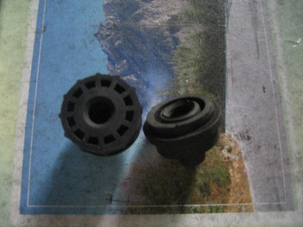 Gối cao su bạc đạn cho quạt công nghiệp