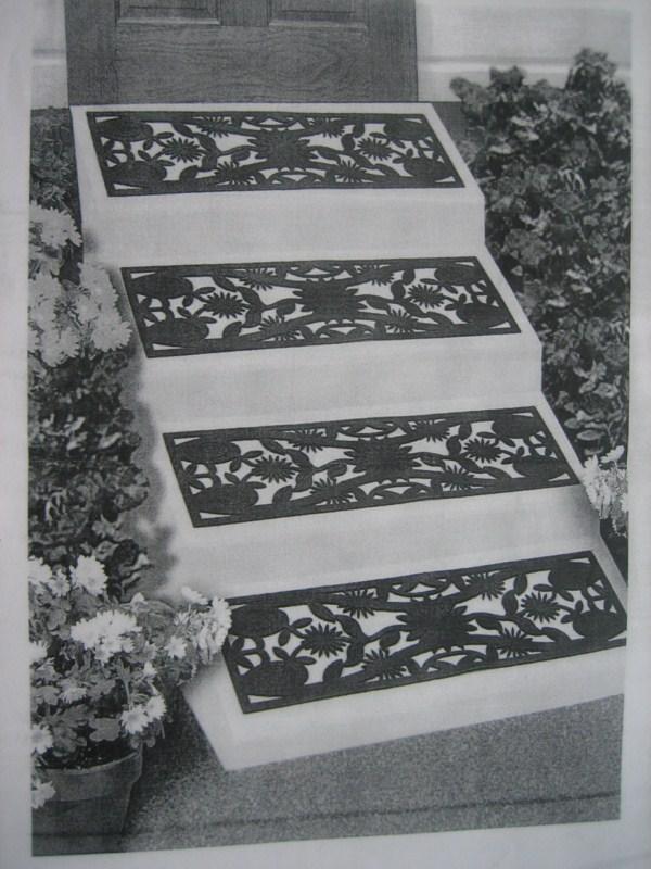 Thảm trải cầu thang ngoài trời